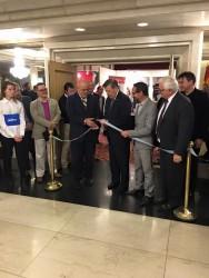 Inauguración oficial con el Canciller Rodolfo Nin Novoa
